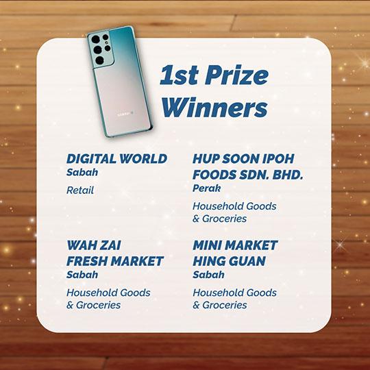 1st Prize Winners