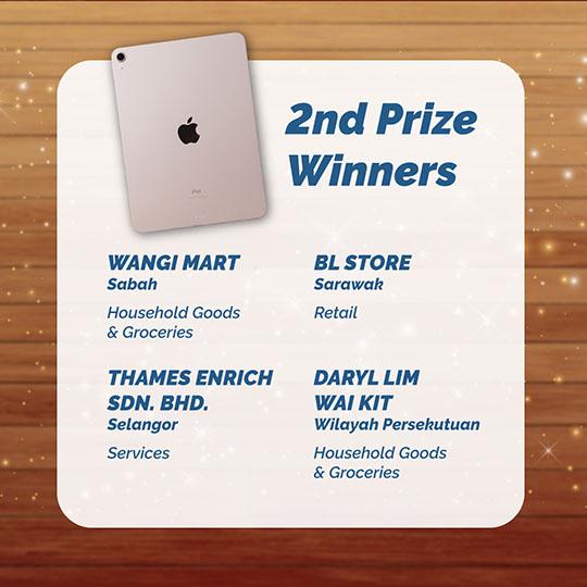 2nd Prize Winners