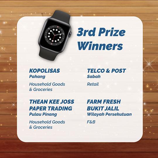 3rd Prize Winners