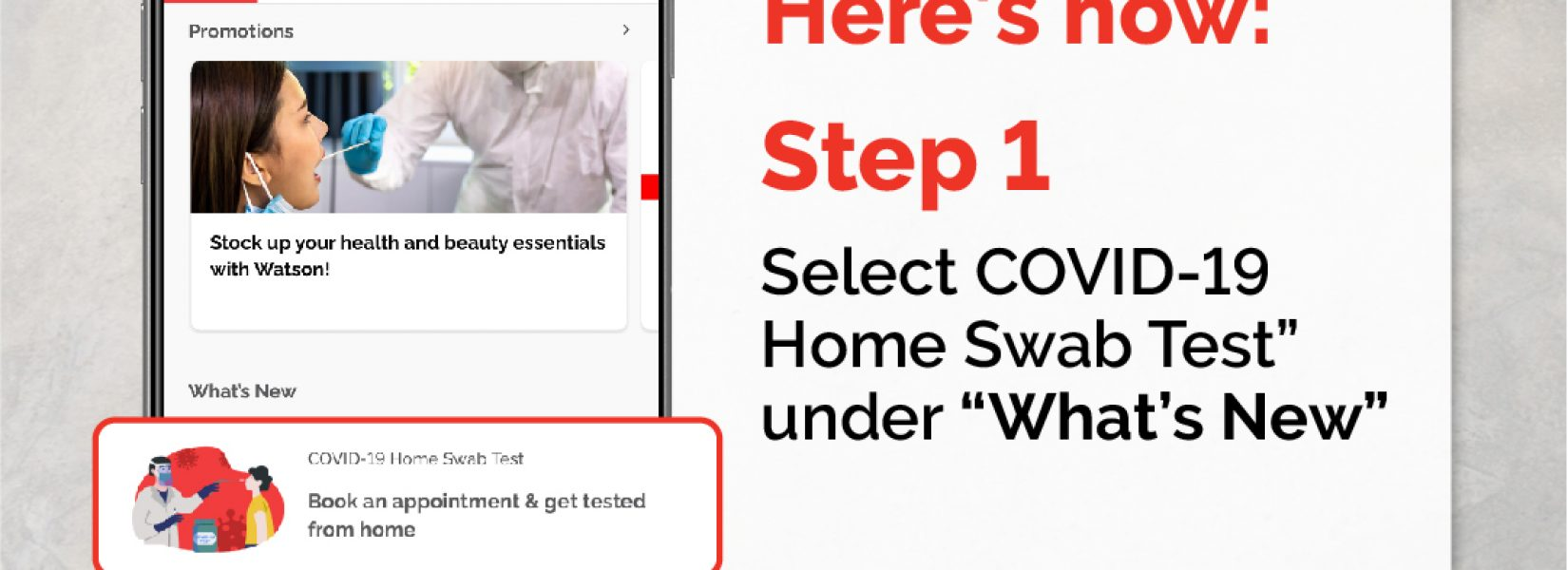 Boost launches new in-app booking for COVID-19 home swab tests